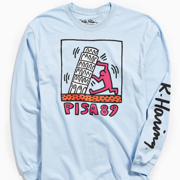 Keith Haring Pisa Long Sleeve Tee | Urban Outfitters