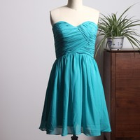 New Style Turquoise Prom Dresses Short 2018 Sweetheart Neckline Homecoming Party Gowns vestidos de baile