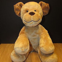 build a bear dog plush stuffed animal age 2 multi-color boys and girls