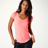 AE Curved Hem T | American Eagle Outfitters