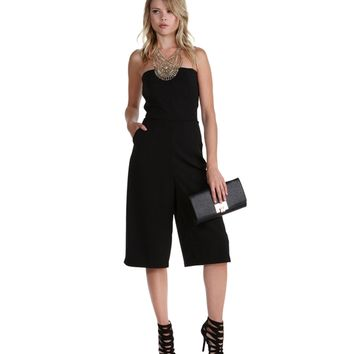Sale-black Play Maker Culotte Jumper