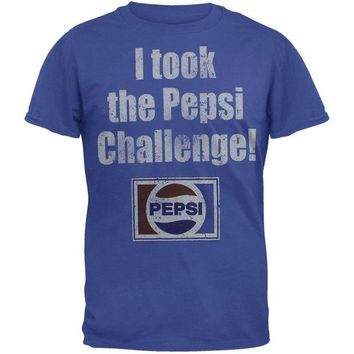 DCCKU3R Pepsi - I Took The Pepsi Challenge T-Shirt