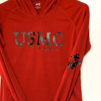 USMC long sleeve pull over