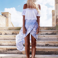 Boho Beach Slit Skirt