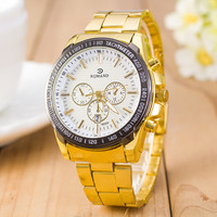 Comfortable Vintage Fashion Quartz Classic Watch Round Ladies Women Men wristwatch On Sales = 4661818628