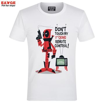 "Deadpool ""My Remote"" Fashion Shirt"
