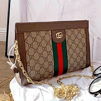 Gucci ophidia new simple retro women's wild chain bag shoulder bag crossbody bag