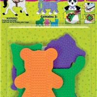 Perler Beads Large Animal Pegboards- 3 Count