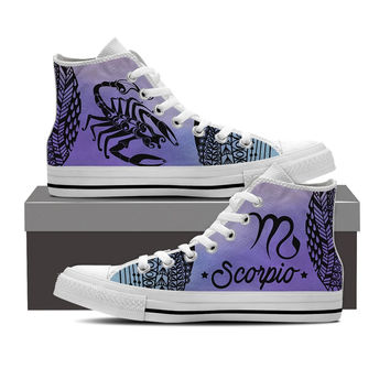 Scorpio Astrology Sign Shoes