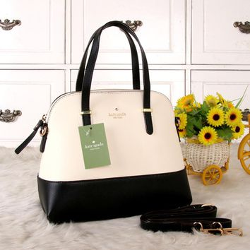 """Kate Spade"" Women Shell Bag Simple Fashion Multicolor Single Shoulder Messenger Bag Handbag"