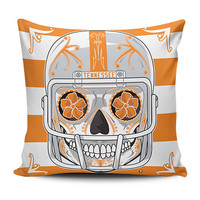 Tennessee Sugar Skull Pillow Covers