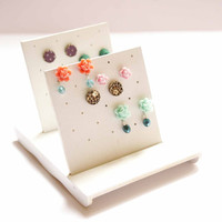 Jewelry Holder - Jewelry Organizer for Post Earrings