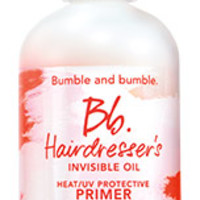 hairdresser's invisible oil heat/UV protective primer > Pre-Styling > Products