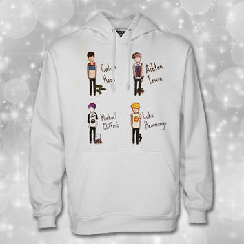 5 Seconds of Summer Shirt, Luke Hemmings, Michael Clifford sweatshirt hoodie Unisex adult