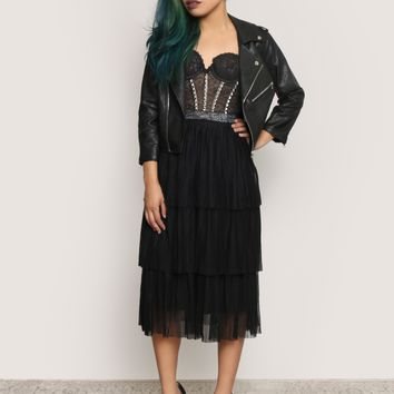 DARK SOULS MIDI SKIRT