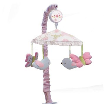 Nurture Garden District Musical Mobile (Pink)