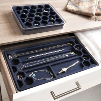 .ORG Stackable 2-Piece Jewelry Tray Set