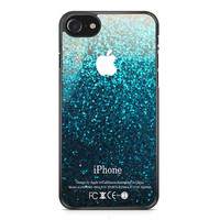 Blue Water Glitter iPhone 7 Case