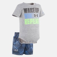 Boys' Newborn UA Wake Up Win Repeat Short Sleeve Shirt | Under Armour US
