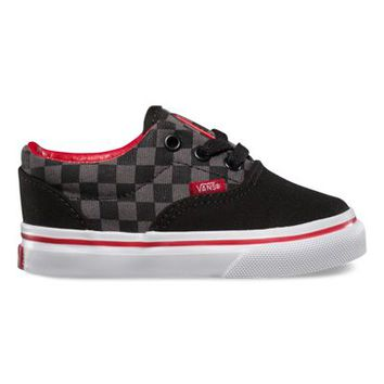 Vans Toddlers Checkerboard Era (black/pewter/chili pepper)