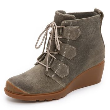 Toronto Lace Up Booties