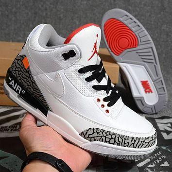 Air Jordan 3 Retro White Cement x Off-White - Best Deal Online