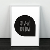 Typography poster, Motivational art, Quote print, Inspirational art, Home decor print, Typography artwork, Inspirational print, Wall prints