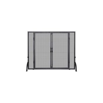 Uniflame 1 Panel Wrought Iron Fireplace Screen