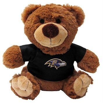 Baltimore Ravens Teddy Bear Pet Toy