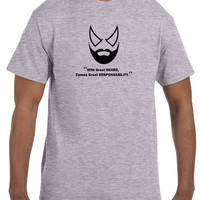 With Great Beard Comes Great Responsability Men's T-shirt