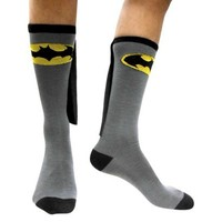 Batman Men's Caped Socks