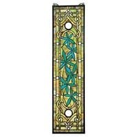 SheilaShrubs.com: Asian Serenity Garden Stained Glass Window TF86 by Design Toscano: Stained Glass
