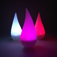 LED Color Changing Rainbow Raindrop