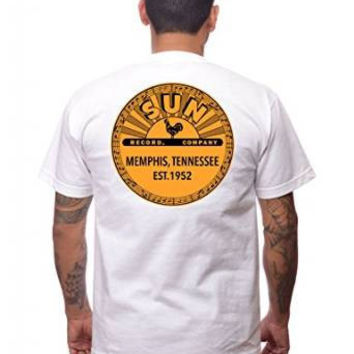 Sun Records White Logo Tee