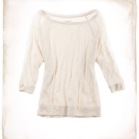 Aerie Cozy Lace Popover | Aerie for American Eagle
