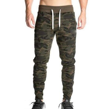 Mens Pants Fitted Active Cotton Sweatpants Male Track Long Pants Patchwork Pants Mens