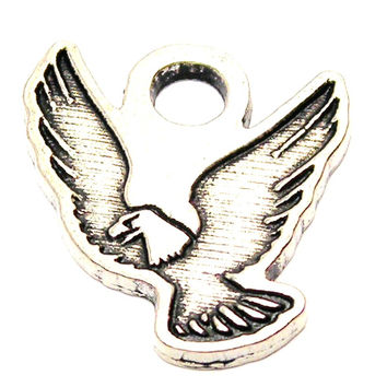 Flying Eagle Genuine American Pewter Charm