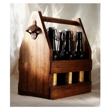 6 pack carrier 16oz craft beer size 6 pack tote groomsmen gift birthday gift