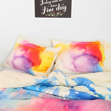 Robert Farkas For DENY Sunny Leo Pillowcase - Set Of 2 - Urban Outfitters