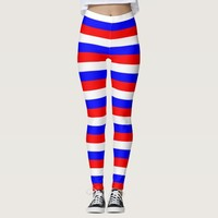 Leggings with flag of Russia