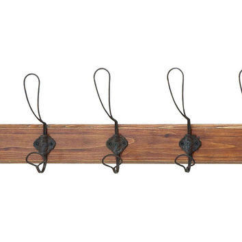 Rustic Wire Wall Hooks, Hooks & Mounted Coat Racks