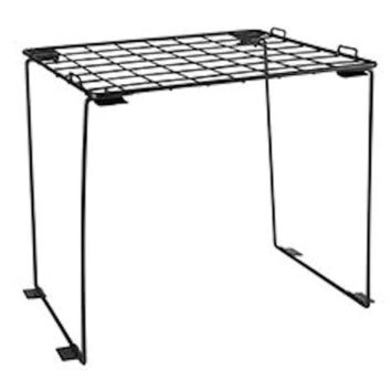 Stackable Locker Shelf (Black) Black