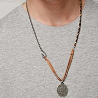 Ettika Phaistos Coin Necklace