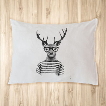 Hipster Deer Pet Bed