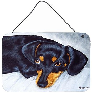 Black and Tan Doxie Dachshund Wall or Door Hanging Prints