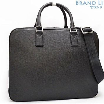 Auth LOUISVUITTON Taiga Neo Alexander 2way business bag hand bag M32772