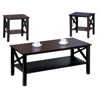 Andover Mills Zelda 3-Piece Coffee Table Set