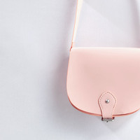 Patent cross-body bag