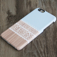 Blue White Lace Floral iPhone 6 Case,iPhone 6 Plus Case,iPhone 5s Case,iPhone 5C Case,4/4s Case,Samsung Galaxy S5/S4/S3/Note 3/Note 2 Case