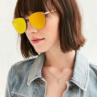 Spacewoman Rimless Frame Sunglasses